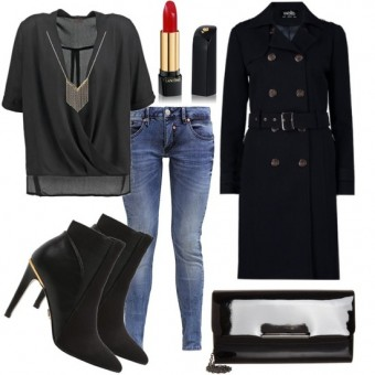 Outfit Black Diva